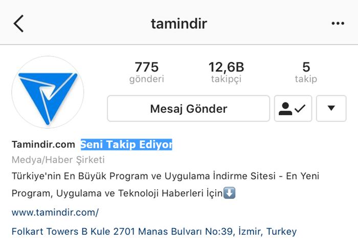 tamindir instagram
