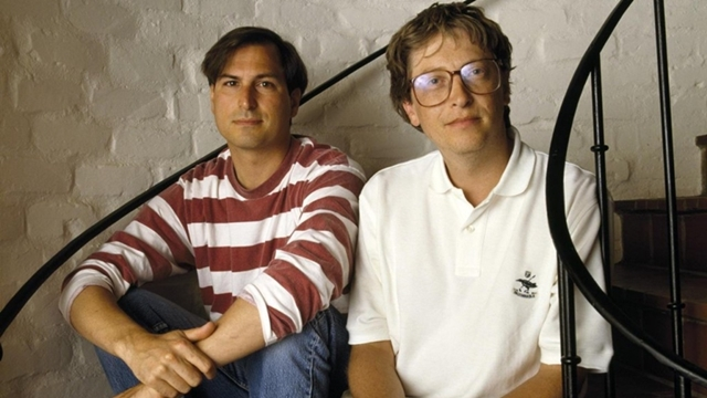 Steve Jobs ve Bill Gates