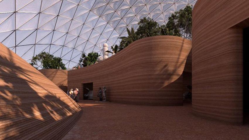 Mars Bilim Şehri Projesi