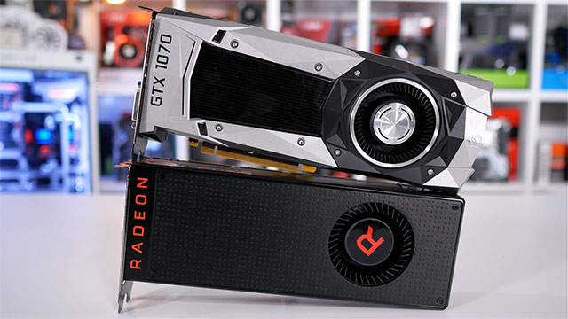 GeForce GTX 1070 vs Radeon Vega 56