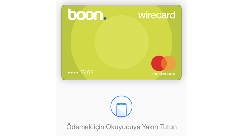 boon. Apple Pay