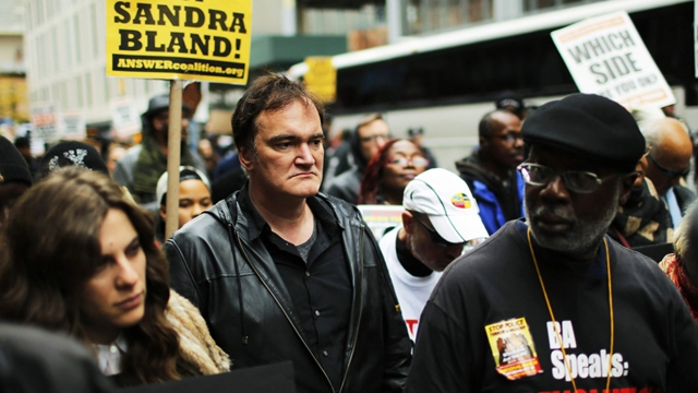 Quentin Tarantino, 'Black Life Matter' Eyleminde