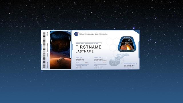 NASA, Mars'a Adınızı Gönderiyor