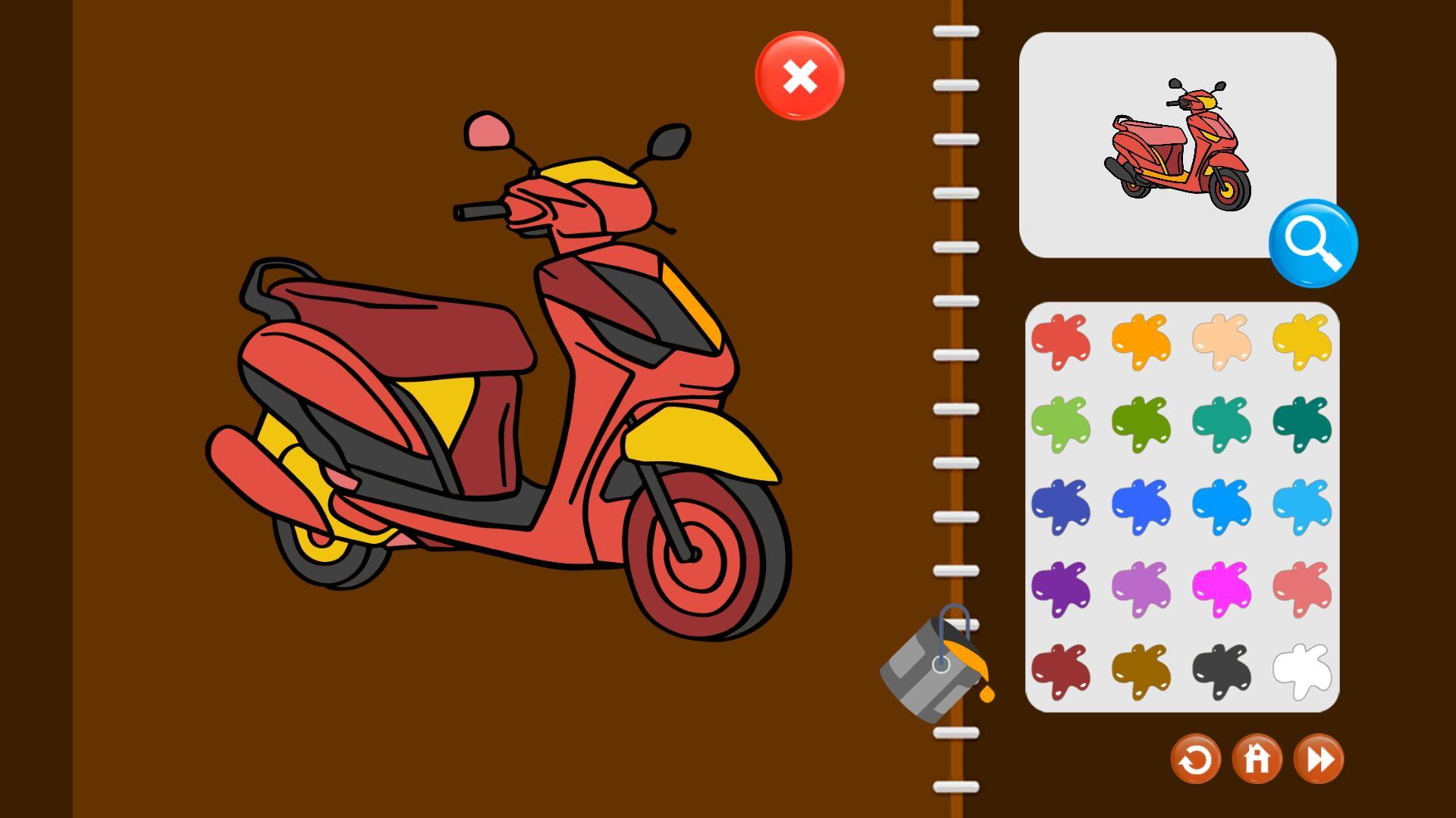 My Coloring Book Transport Indir Boyama Kitabi Oyunu Tamindir