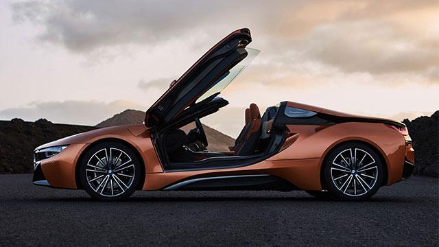 BMW i8 Roadster 4