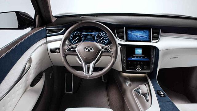 Infiniti QX50 SUV İç Mekan