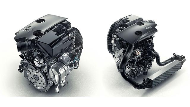 Infiniti QX50 SUV VCTurbo Motoru