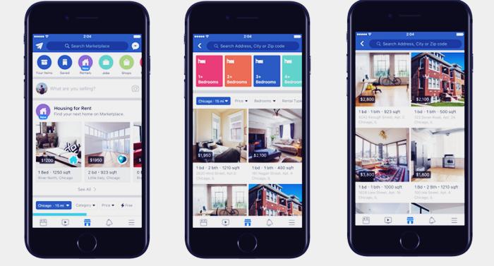 Facebook Marketplace kiralık ev