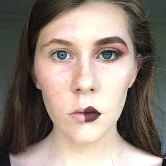 Yarı makyaj yarı doğal 8