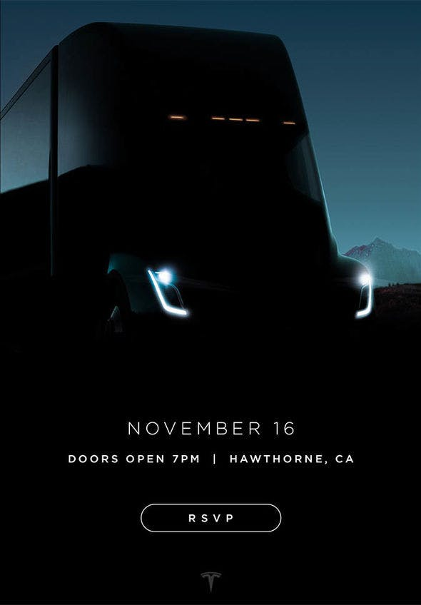 Tesla kamyon