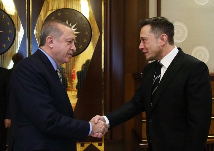 musk erdoğan görüşmesi