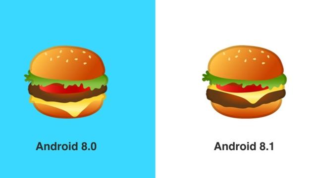 Cheeseburger Emojisi Güncellendi!