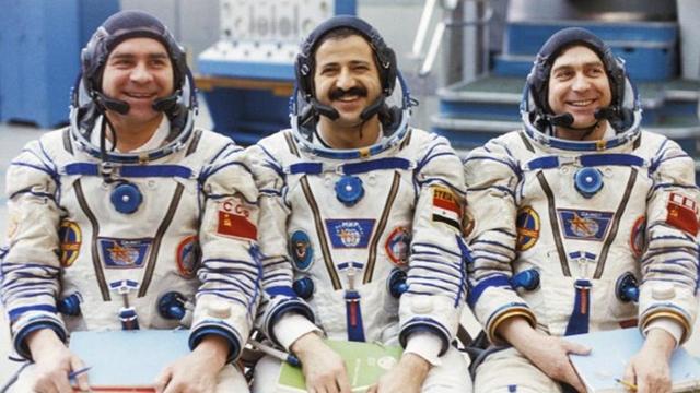 İlk Suriyeli Astronot