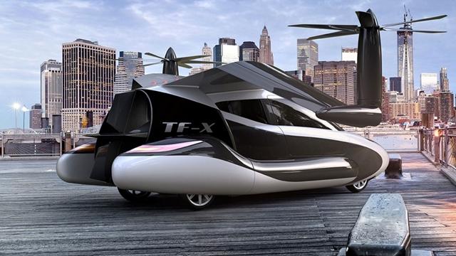 Volvo, Uçan Otomobil Projesi