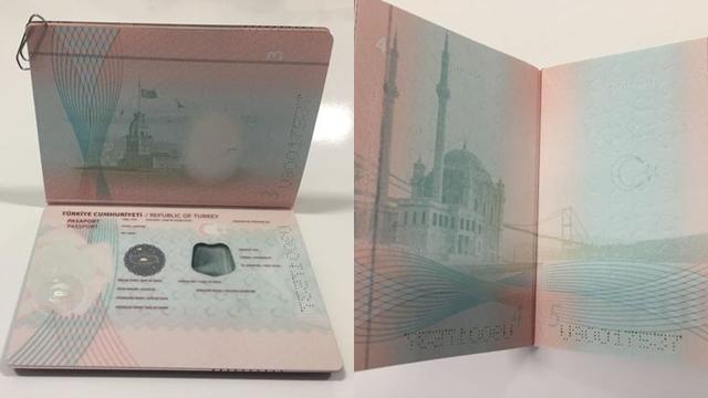 Yeni Nesil Pasaportlar İlk Kez Görüldü