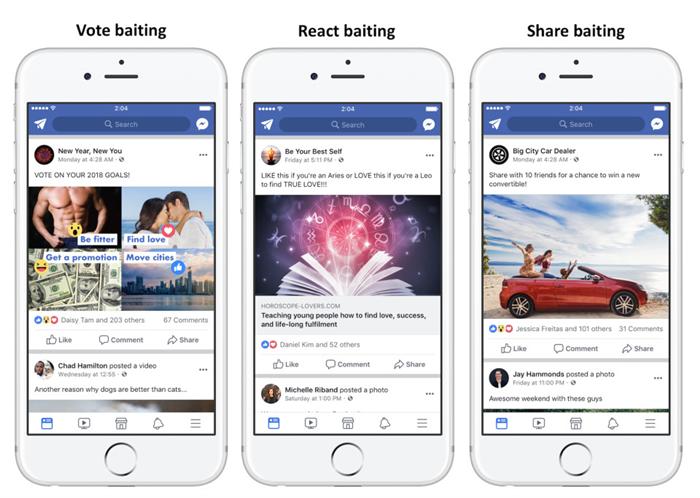 Facebook'ta Beğeni Dilenen Sayfalar