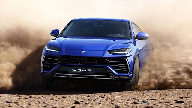 2019 Lamborghini Urus 7