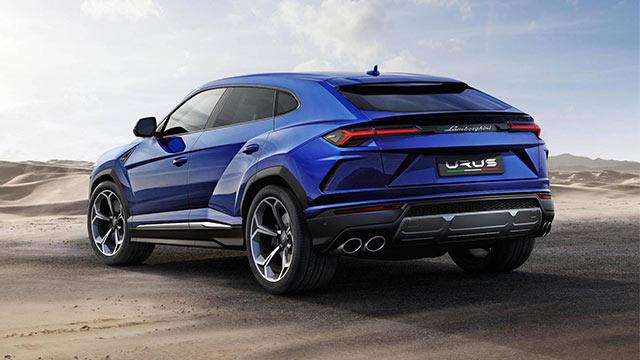 2019 Lamborghini Urus 8