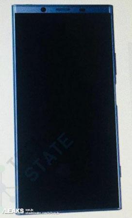 Xperia XZ2 Sızıntı Fotoğrafı
