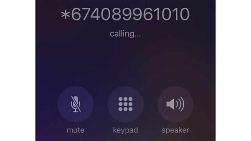 iPhone Numara Gizleme