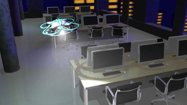 Bekçi Drone'lar Fazla Mesai Yapanları Uyaracak