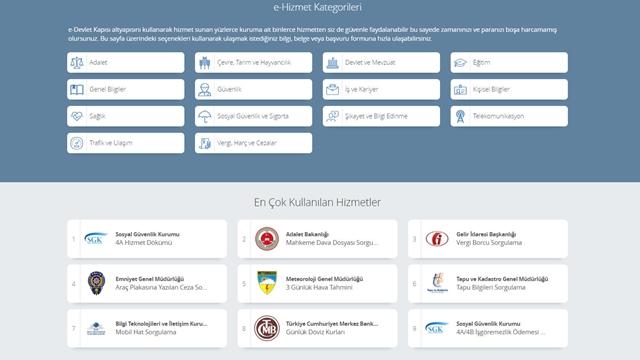 e-Devlet Tasarımı Baştan Aşağı Değişti! Yenilikler