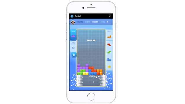 Tetris, Facebook Messenger ile Geri Döndü