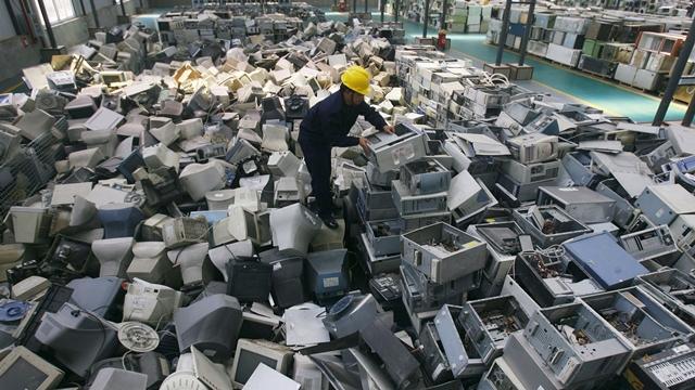 Elektronik Atık Miktarı 45 Milyon
