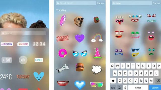 Instagram Hikaye GIF Özelliği 2