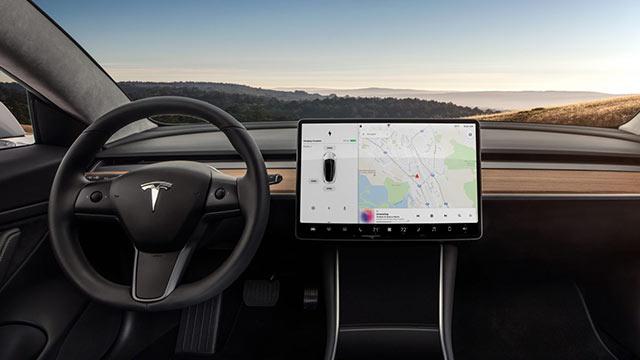 Tesla Model3 Ic Mekan