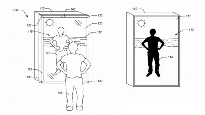 Amazon ayna patent