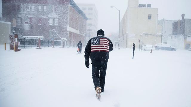 ABD'yi Vuran Kar Kasırgası