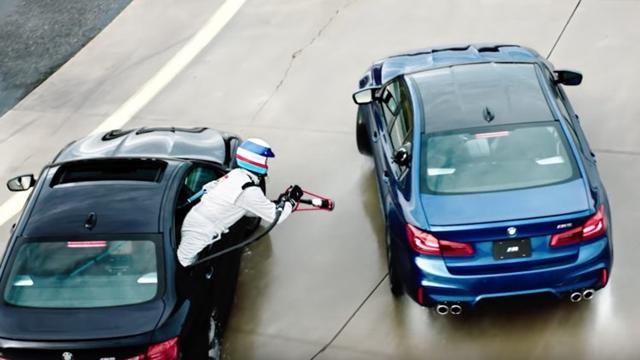 BMW, Dünyanın En Uzun Drift Rekorunu Kırdı
