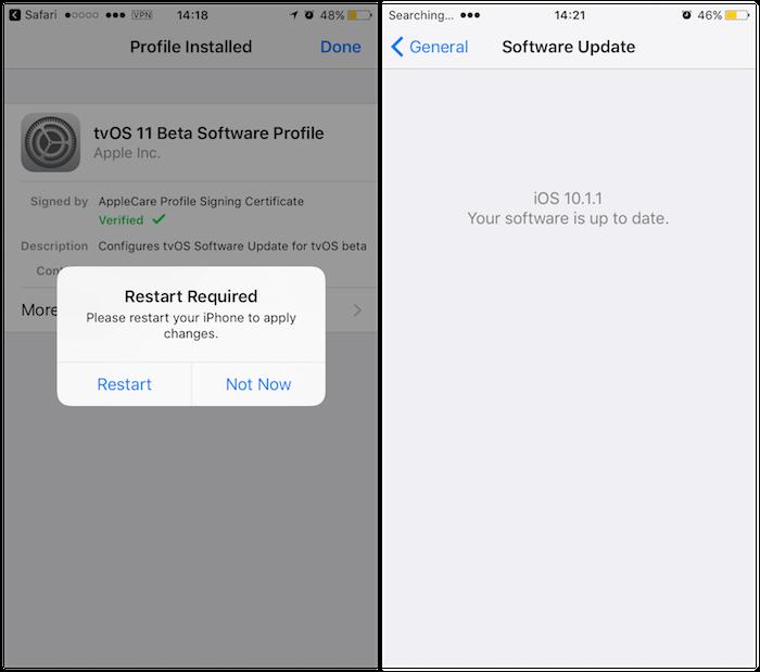 iphone 7 yazılım güncelleme durdurma