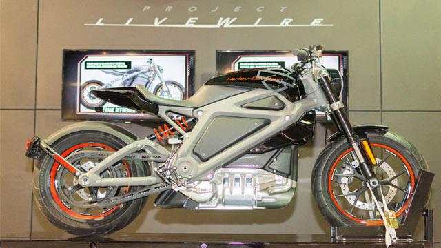 Harley Davidson Elektrikli Motosiklet 2
