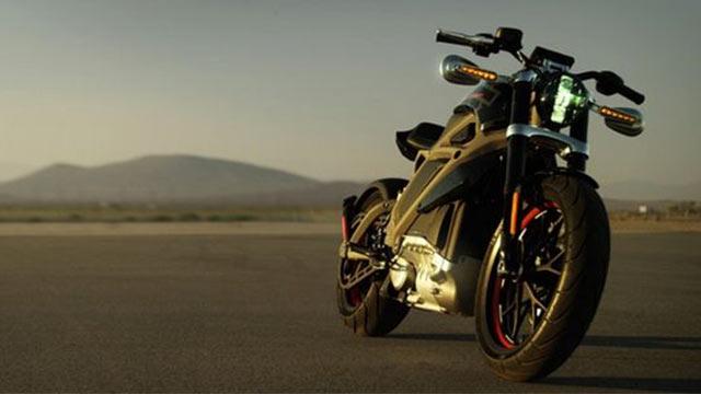 Harley Davidson Elektrikli Motosiklet 3