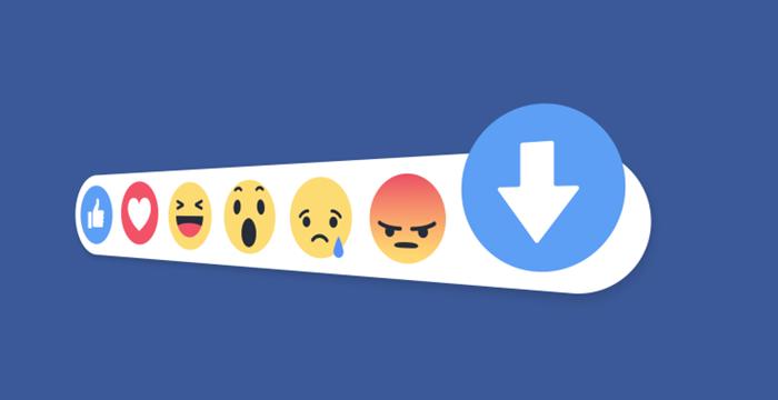 Facebook, 'Beğenmeme' Butonu