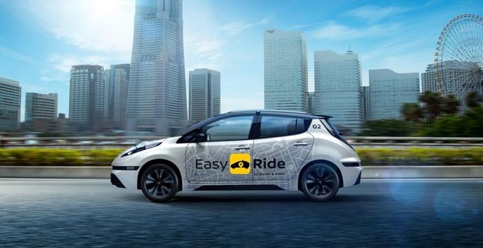 Nissan Sürücüsüz Taksiler