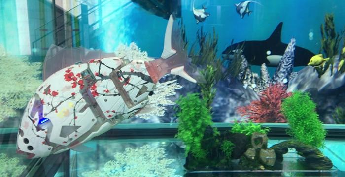 robot balıklar