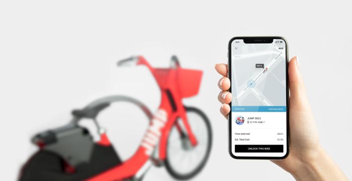 Uber, Bisiklet Kiralama Servisi Başlatıyor