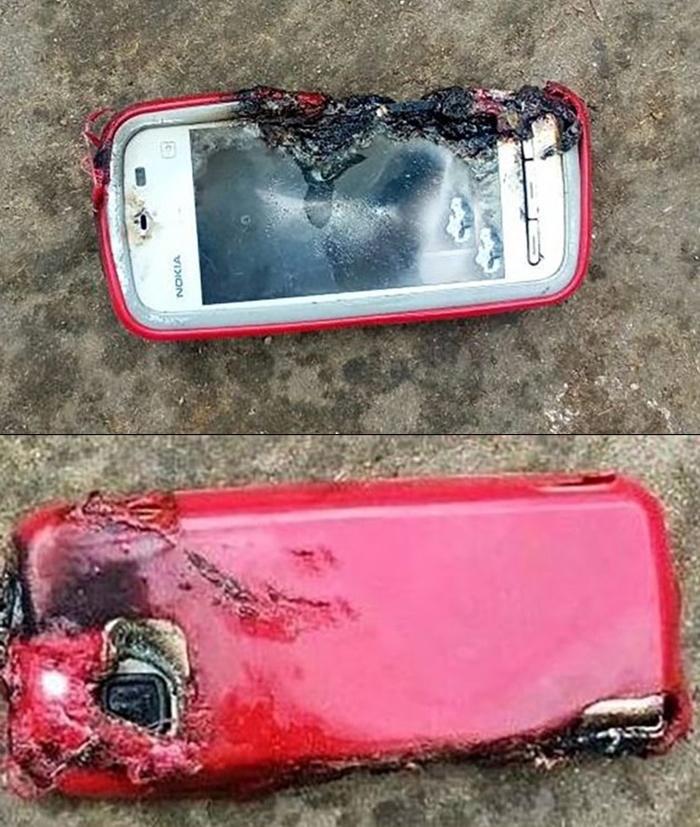 Nokia 5233 Patlama