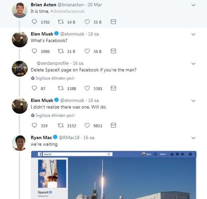 Elon Musk Türk kullanıcı 1