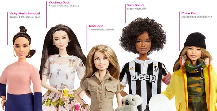 Kadın figürler barbie