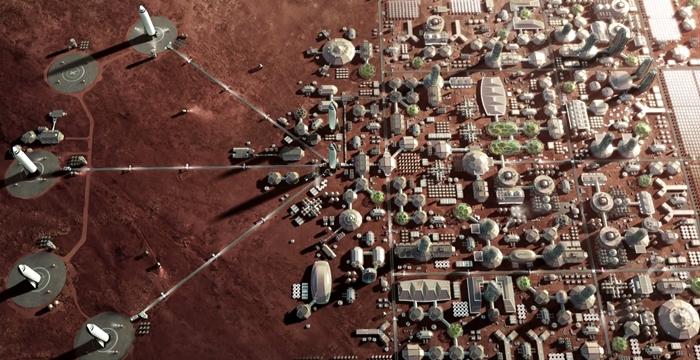 Mars kolonisi Elon Musk