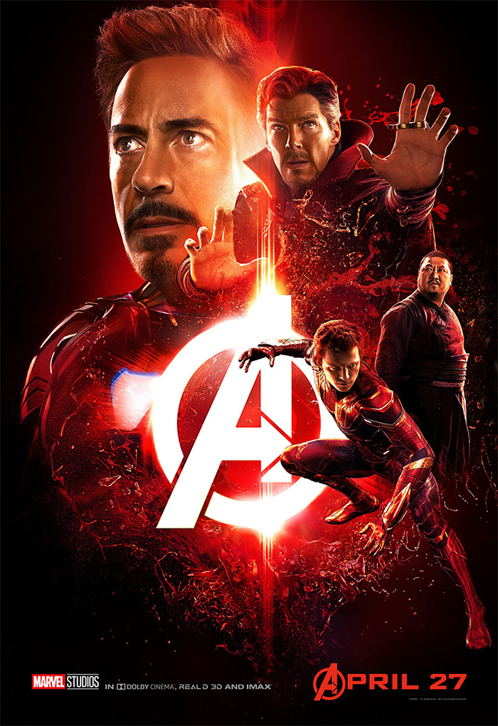 Avengers: Infinity War Yeni Poster