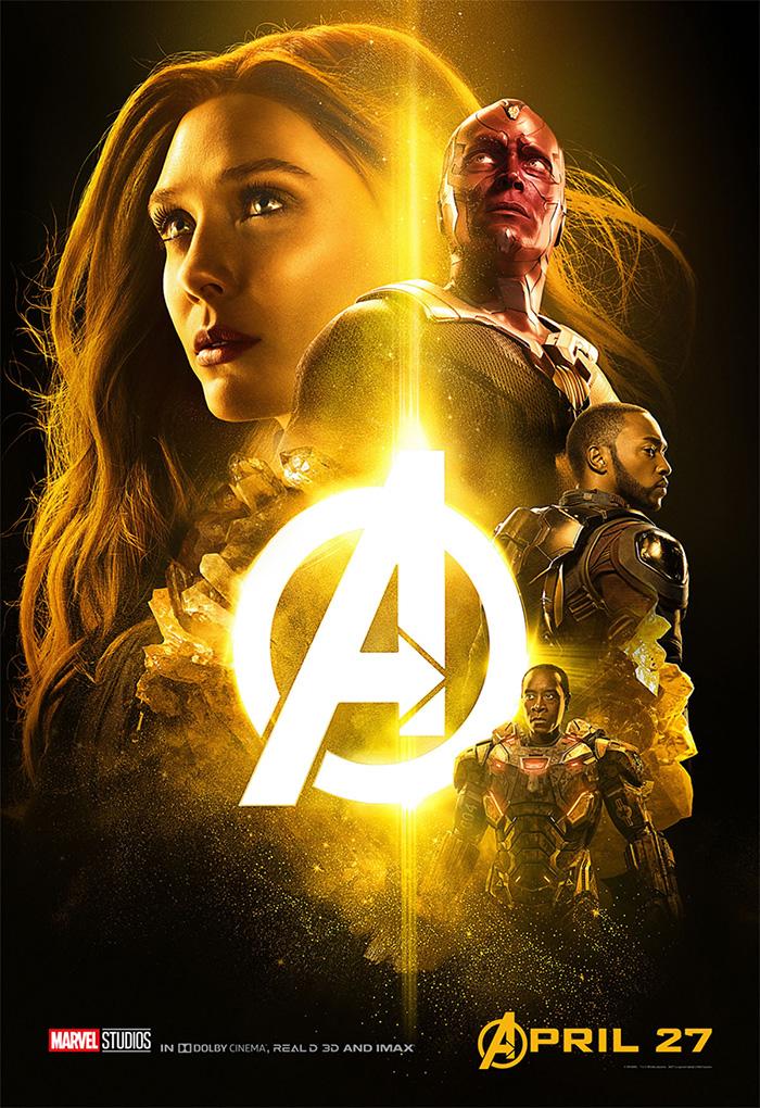 Avengers: Infinity War Yeni Posterler