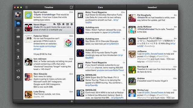Mac Tweetbot Uygulaması