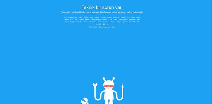 Twitter Çöktü 2