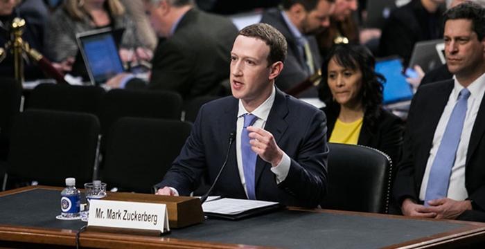 Facebook Mark Zuckerberg ABD Senatosu