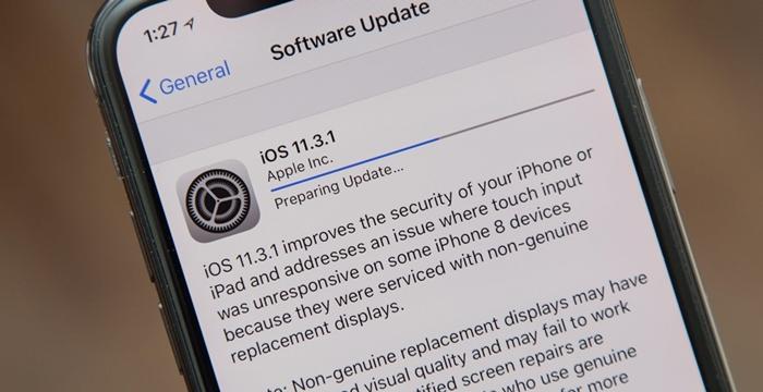 iOS 11 güncelleme